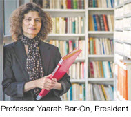 Profesor Yaarah Bar-On, Presidente